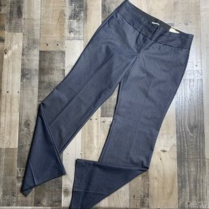 EXPRESS EDITOR CHAMBRAY DRESS PANTS SZ 8R